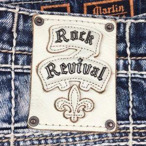Rock Revival MARLIN Cutoff Shorts Size 40